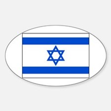 Flag of Israel Oval Decal