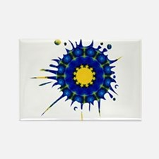 Charisma Splatter Rectangle Magnet (10 pack)