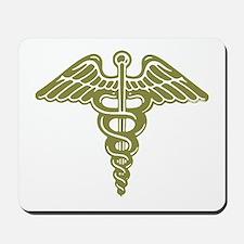 Medic: Cadaceus (OD) Mousepad