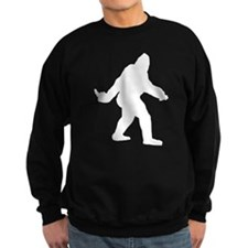 Bigfoot Flips The Bird Sweatshirt