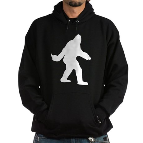 Bigfoot Flips The Bird Hoodie (dark)
