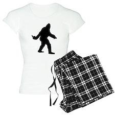 Bigfoot Flips The Bird Pajamas