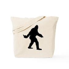 Bigfoot Flips The Bird Tote Bag
