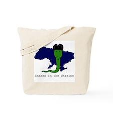 Snakes in the Ukraine Tote Bag