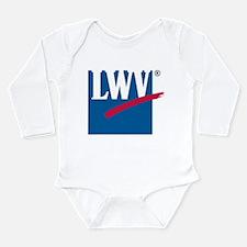 LWV Logo Long Sleeve Infant Bodysuit