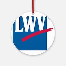 LWV Logo Ornament (Round)