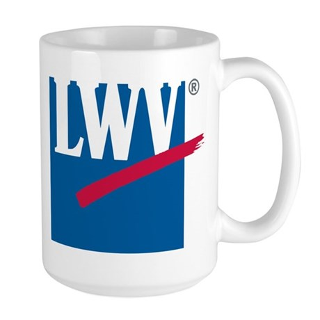 LWV Logo Large Mug