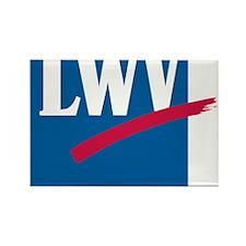 LWV Logo Rectangle Magnet