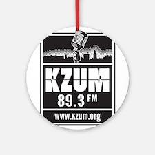 KZUM 89.3 FM/HD Ornament (Round)