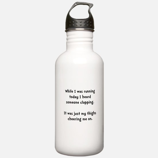Running Thigh Cheer Water Bottle