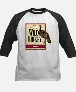 Hunt Wild Turkey Kids Baseball Jersey