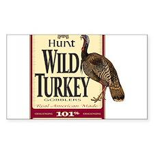 Hunt Wild Turkey Decal
