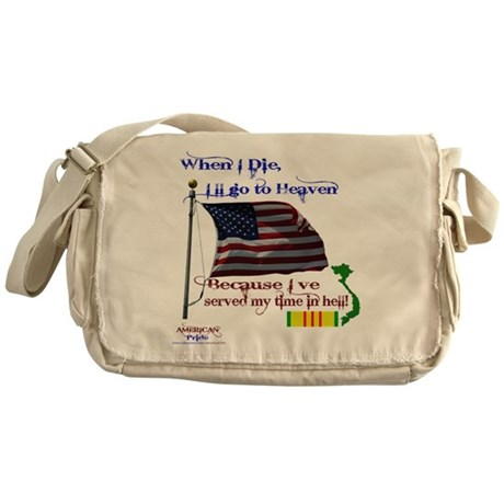 When I Die... Vietnam Messenger Bag