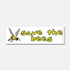 Save the bees - Car Magnet 10 x 3