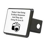 Shoot Someone Camera Rectangular Hitch Cover