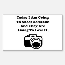 Shoot Someone Camera Decal