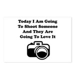 Shoot Someone Camera Postcards (Package of 8)