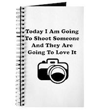Shoot Someone Camera Journal