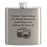 Shoot Someone Camera Flask