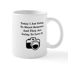 Shoot Someone Camera Mug
