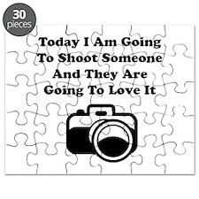 Shoot Someone Camera Puzzle