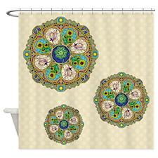 Summer Nouveau Shower Curtain