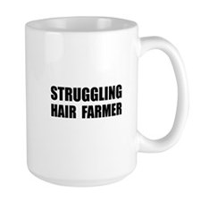 Struggling Hair Farmer Coffee Mug