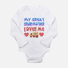 """Baby-Boy """"Great Grandmother"""" Body Suit"""