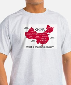China, no ordinary polluter T-Shirt