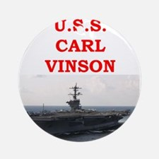 carl vinson Ornament (Round)