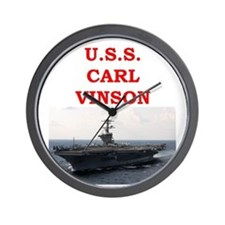 carl vinson Wall Clock