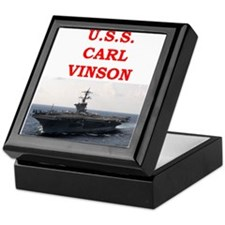 carl vinson Keepsake Box