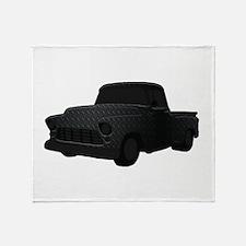 1955 Chevy Truck Throw Blanket