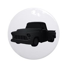 1955 Chevy Truck Ornament (Round)