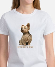 """all ear yorkie"" T-Shirt"