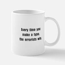 Typo Errorists Mug