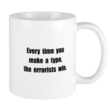 Typo Errorists Mug