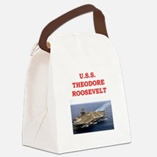 theodore roosevelt Canvas Lunch Bag