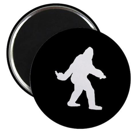 "Bigfoot Flips The Bird 2.25"" Magnet (10 pack)"