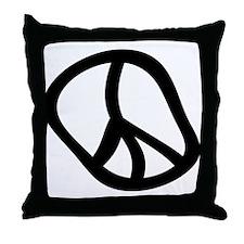 Hippie 1 Throw Pillow