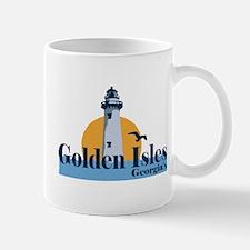 Golden Isles GA - Lighthouse Design. Mug