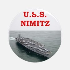 nimitz Ornament (Round)