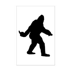 Bigfoot Flips The Bird Posters