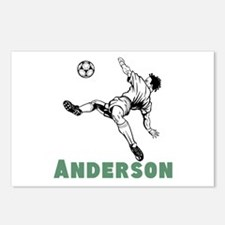 Personalized Soccer Postcards (Package of 8)