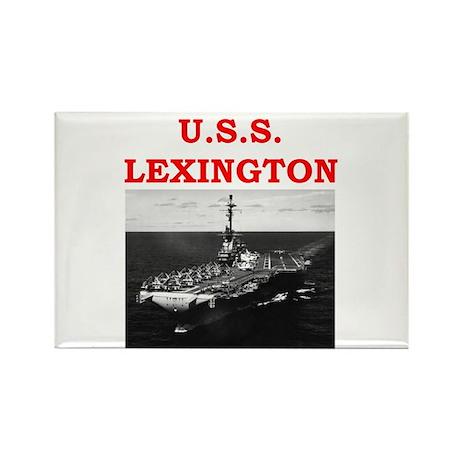 lexington Rectangle Magnet (100 pack)