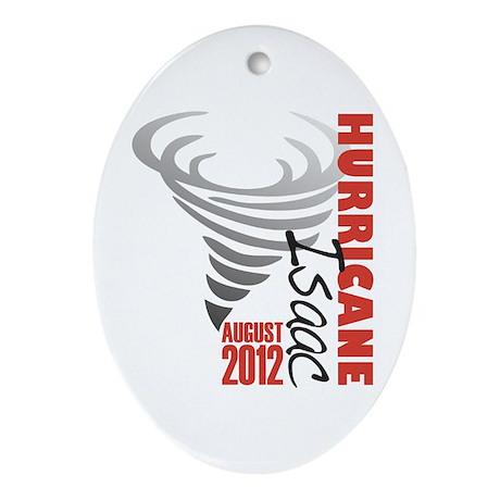 Hurricane Isaac 2012 Ornament (Oval)