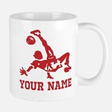 Personalized Soccer Small Small Mug