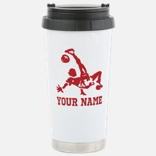 Personalized Soccer Thermos Mug