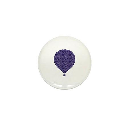 Hot Air Balloon Mini Button