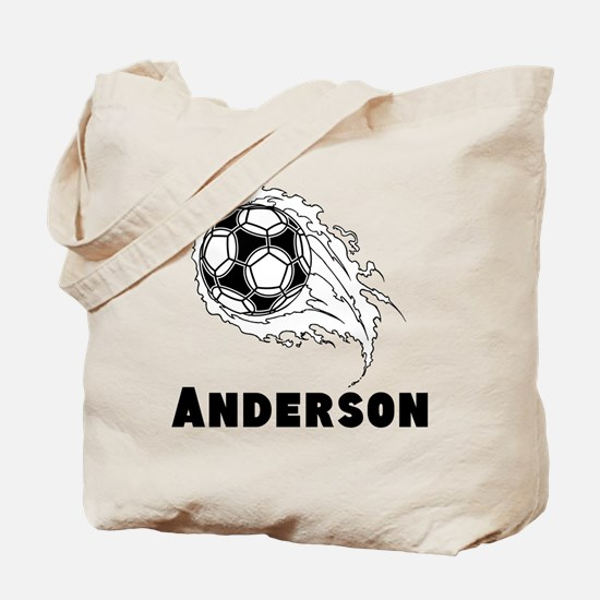 Personalized Soccer Tote Bag